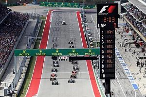 Carey - La Formule 1 n'a pas suffisamment grandi depuis 5 ans