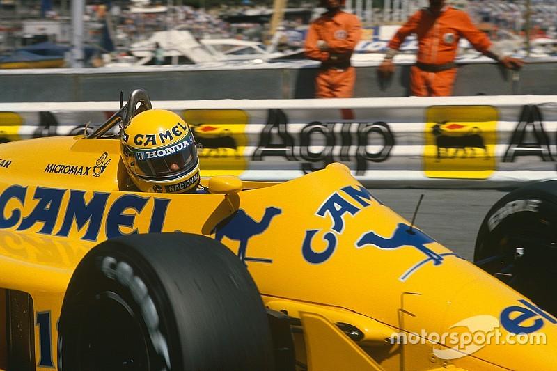 Ayrton Senna y la última victoria de Lotus
