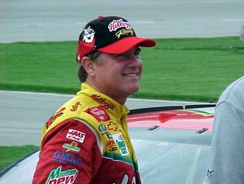 Pole winner Terry Labonte