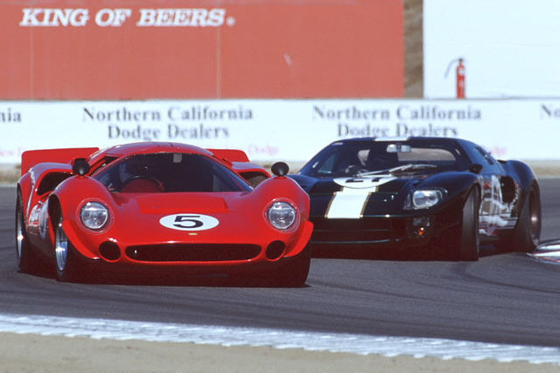 1967 Lola T70 & 1966 Ford GT-40