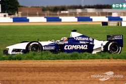 Juan Pablo Montoya in Luffield