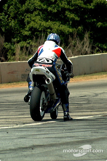 Mladin stalled, Superbike