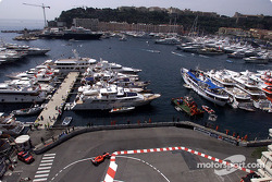 Rubens Barrichello and the port