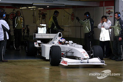 Olivier Panis in the BAR Honda 003