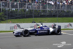 Ralf Schumacher practicing his start