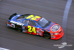 Jeff Gordon in the tri-oval