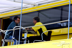 Eddie Jordan discussing