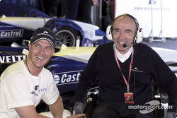 Ralf Schumacher and Frank Williams