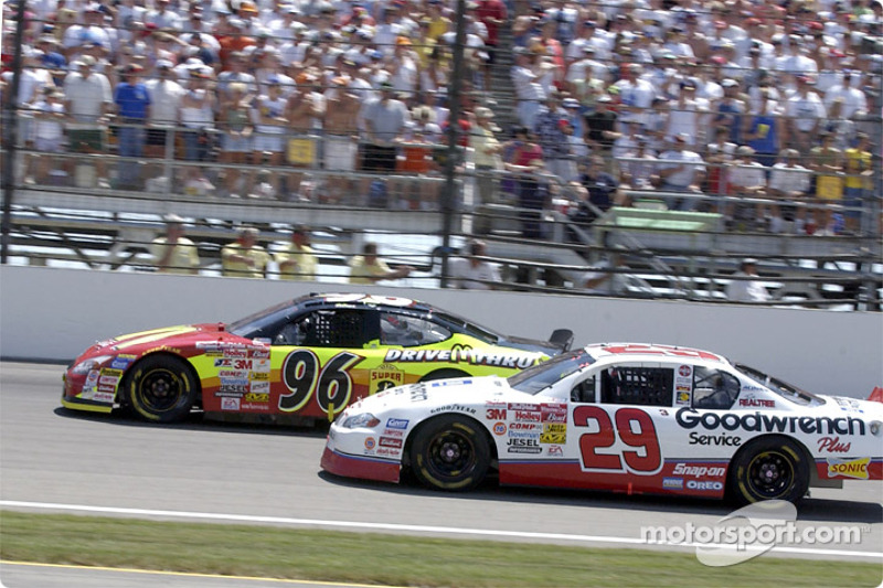 Kevin Harvick and Andy Houston