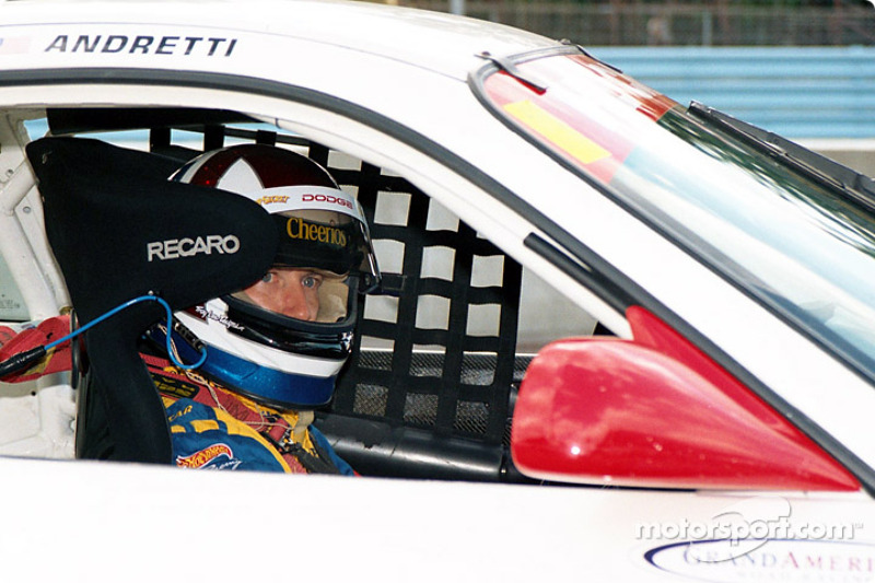 Andretti at the start