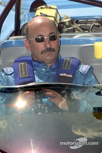 Bobby Rahal qualifying his Porsche 908