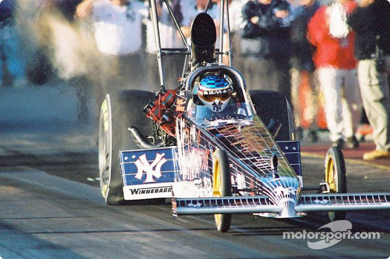 Mike Dunn had the quickest time during qualifiers at 4.494