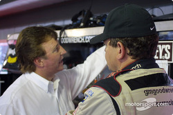 Discussion in the garage area