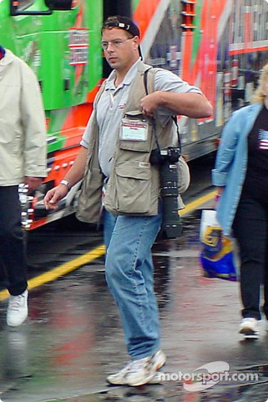 Motorsport.com's photographer/reporter hard at work