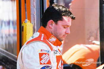 A disappointed Tony Stewart