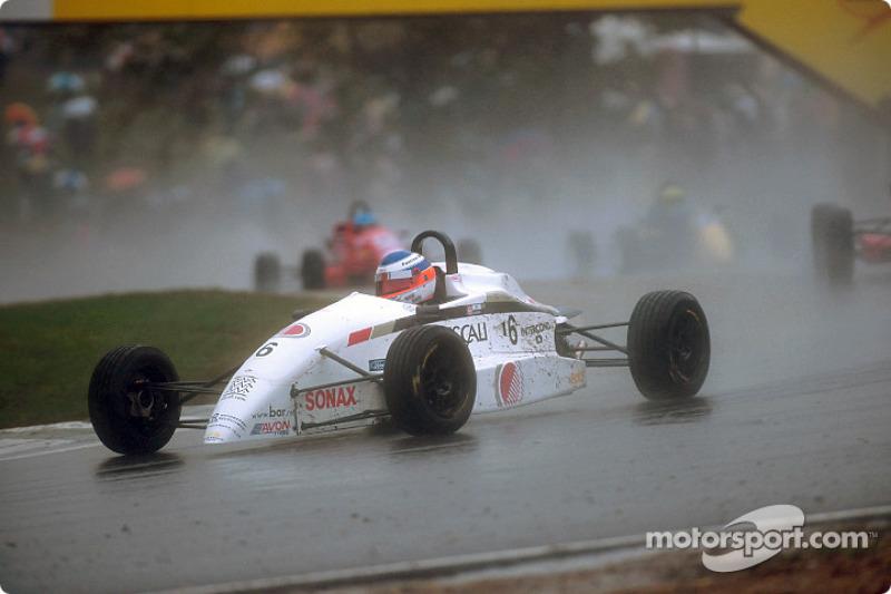 David Lloyd in the rain