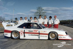 The Miller Mustang was fielded in 1981 by the Bill Scott Racing Team, with driver Klaus Ludwig