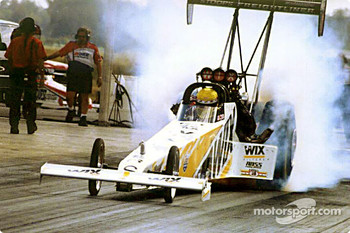 Top Fuel winner Bruce Litton