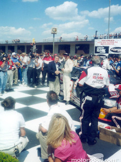 Race winner Kerry Earnhardt