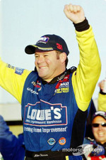 Race winner Robby Gordon