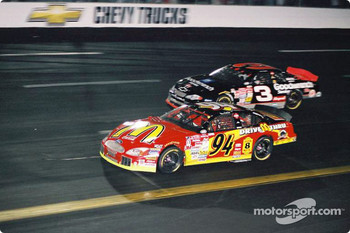 Bill Elliott and Dale Earnhardt