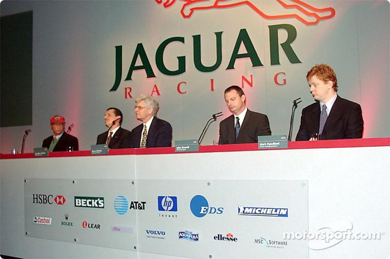 Steve Nichols talking about the Jaguar R3