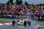 Thierry Boutsen on a Williams-Renault