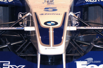 Details of the front suspension