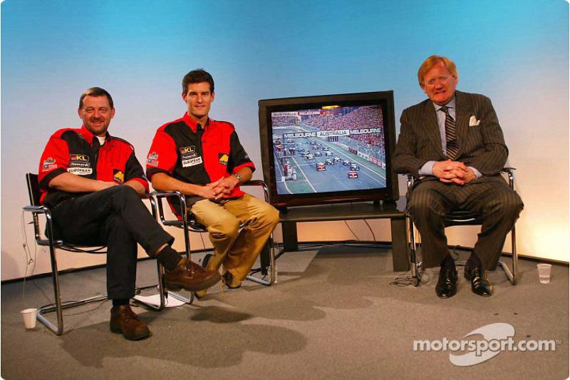 Paul Stoddart and Mark Webber