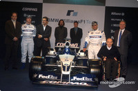 WilliamsF1 BMW FW24 launch