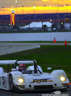 As the sun began to set at Daytona, the #36 Elan Riley & Scott was battling for the lead