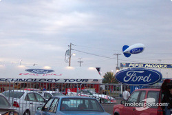 Ford at dusk