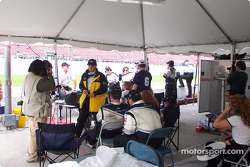 Flis Motorsport pit box