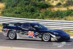 The 'Atomic Kitten' GT class Corvette made its race debut