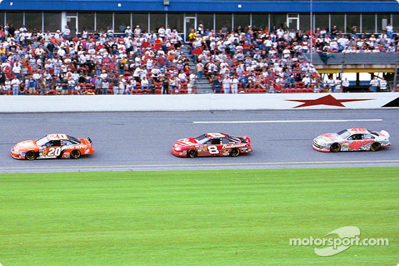Tony Stewart, Dale Earnhardt Jr. and Sterling Marlin