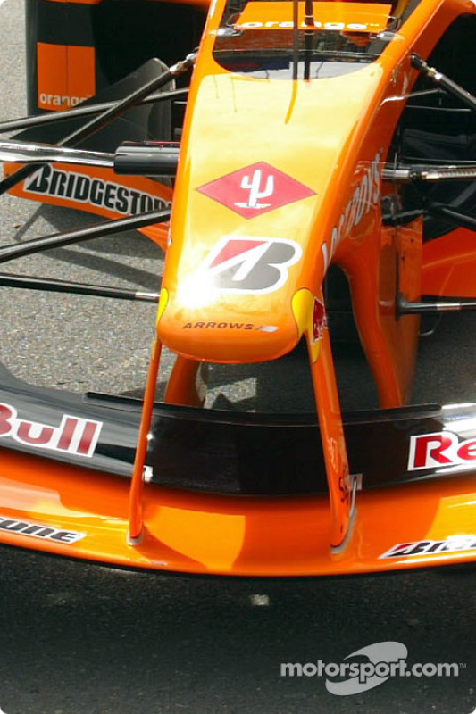 Official launch of the Arrows A23