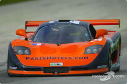 The #24 Mosler MT900R of Perspective Racing led the GT field during Friday's practice sessions