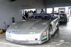 The #09 Indicom Auto Group Corvette of Flis Motorsports