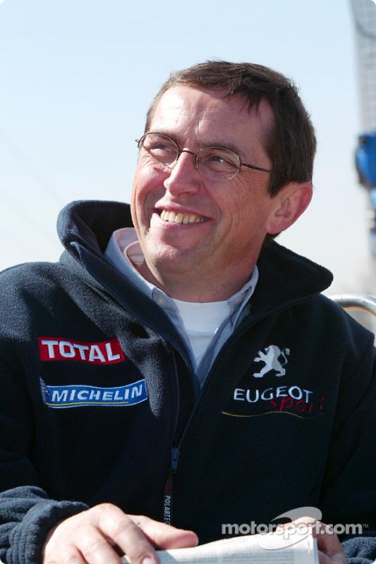 Peugeot's François Chatriot