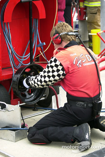 Working in the pits