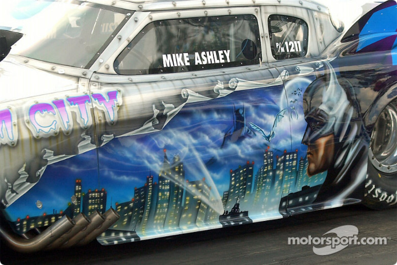 The Gotham City car had one of the best trick paint job in Pro Mod