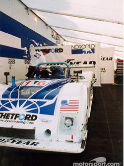 Dyson Racing garage area