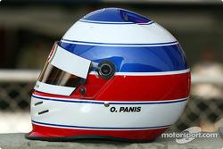 Olivier Panis' helmet