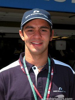BMW WilliamsF1 Team test driver Antonio Pizzonia