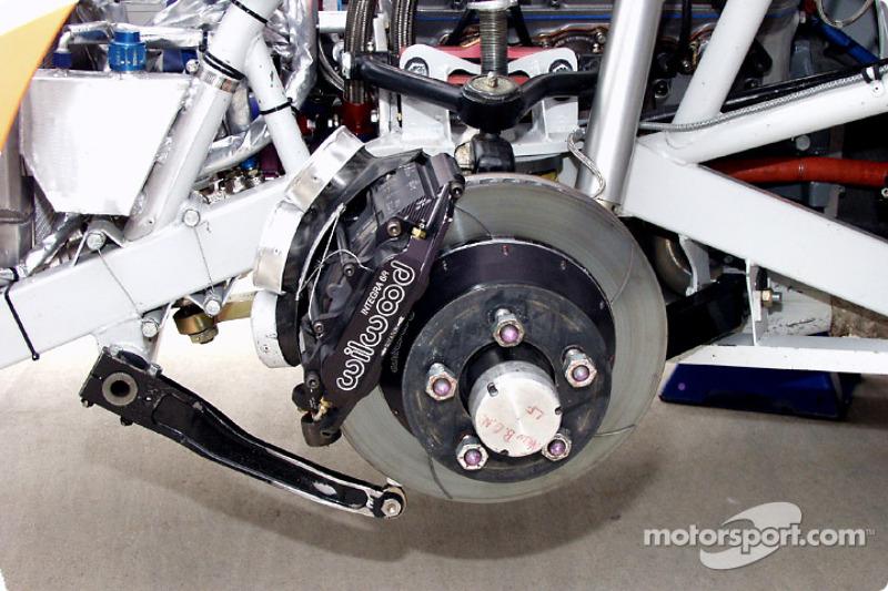 Wheel well detail