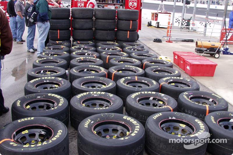 Wheels ready to go