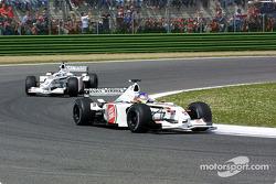 Jacques Villeneuve and Olivier Panis