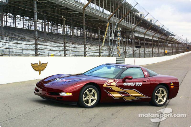 The 2002 Indianapolis 500 Corvette Pace Car