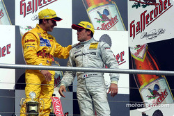 The French connection: Laurent Aiello and Jean Alesi