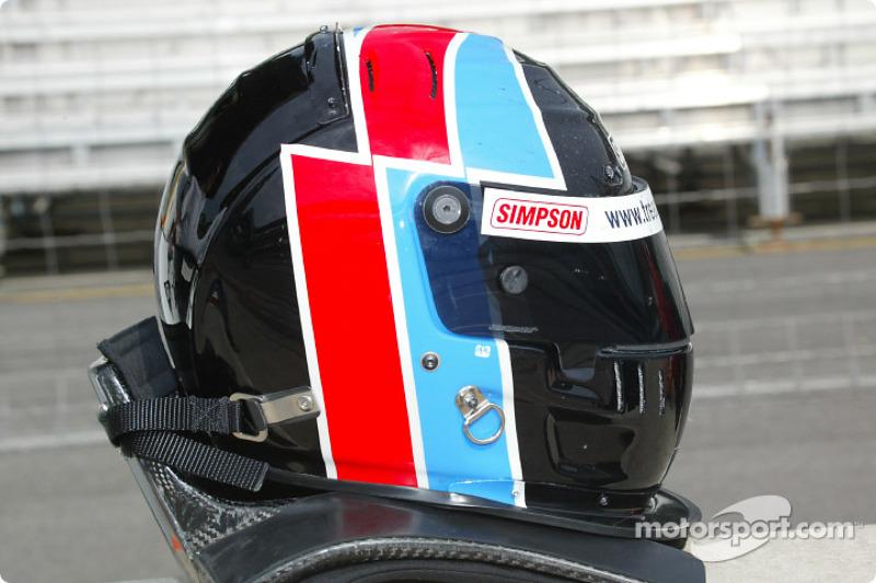 Johnny Herbert's helmet